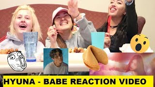 HyunA현아 - BABE베베 REACTION [BACKUP DANCER AND FORTUNE COOKIES]