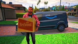 Delivering Parcel to Every Homes in Gta 5