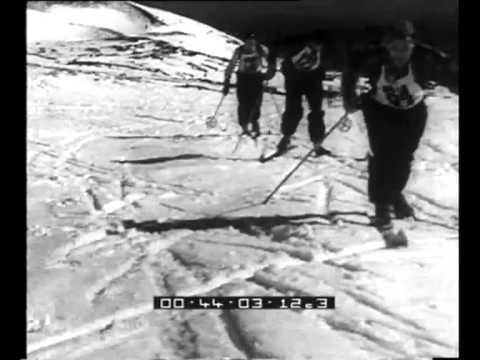 Valle del Bove, Catania. il campionato di sci sull'Etna