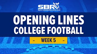College Football Week 5 Preview! | NCAAF Games Picks & Predictions