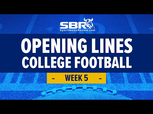 College Football Week 5 Preview! | NCAAF Games Picks & Predictions