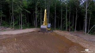 Строительство дороги в Калуге