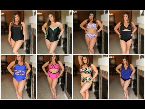 SWIMSUIT HAUL & TRY ON 2016 | Plus Size Swimsuits