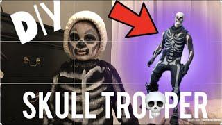 Fortnite Skull Trooper Skin DIY Costume
