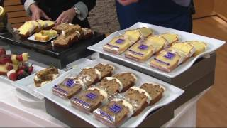 Sweet Sam's 18 Count Iced Carrot and Lemon Pound Cake Slices on QVC