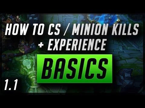 How to CS / Minion Kills + Experience | Basics | 1.1 | Zoose Educational Guide