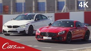 Track Race   BMW M4 DTM vs Mercedes AMG GTR   Part 2