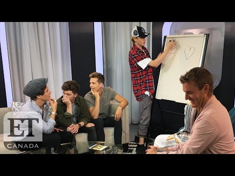 The Vamps Play 'Boy Band Pictionary' | FACEBOOK LIVE!