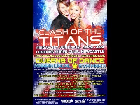 Dj Trouble & Double D Mc Stompin & Tazo @ Clash Of The Titans Queens Jubilee Special 2012
