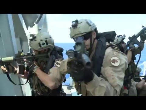 Canadian Maritime Tactical Operators - Trident Juncture '15  HD