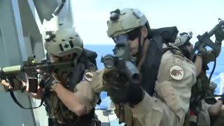 Canadian Maritime Tactical Operators - Trident Juncture