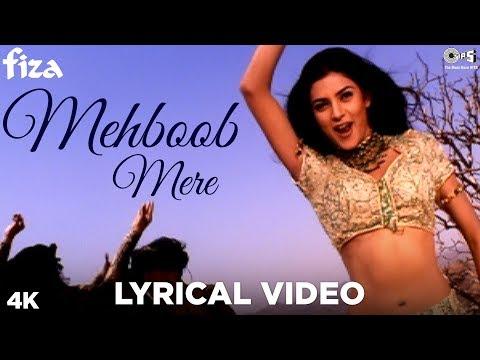 Mehboob Mere Lyrical Video - Fiza   Hrithik Roshan, Sushmita, Karisma Kapoor   Sunidhi, Karsan