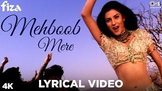 Mehboob Mere Lyrical Video - Fiza | Hrithik Roshan, Sushmita, Karisma Kapoor | Sunidhi, Karsan