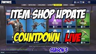 ITEM SHOP UPDATE - COUNTDOWN - Fortnite Battle Royale - 31st August - 1st September