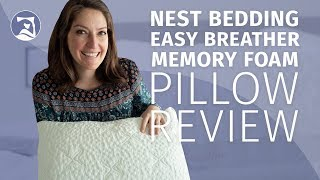 nest bedding easy breather memory foam pillow review