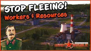 STOP FLEEING, TRAITORS! - Workers and Resources Soviet Republic #1 thumbnail