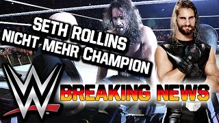 Seth Rollins nicht mehr WWE Champion, Turnier bei Survivor Series | WWE BREAKING NEWS