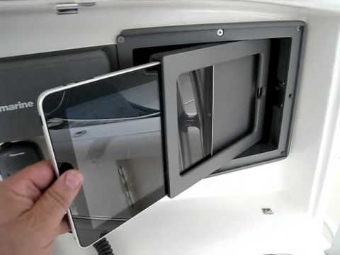 Ipad Mount In A Boat Youtube