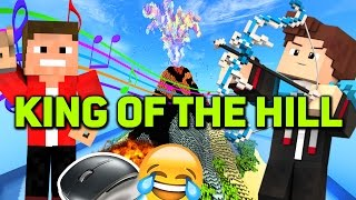 MAUS ZERSTÖRT + SPACKEN MUSIK ACTION - Minecraft Spiel: KING OF THE HILL
