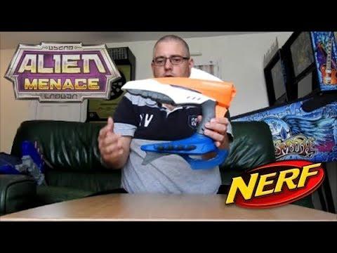 nerf alien menace voidcaster d mo et pr sentation en fran ais fr hd youtube. Black Bedroom Furniture Sets. Home Design Ideas