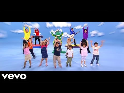 The Wiggles (Taiwan) - Can You (Point Your Fingers and Do the Twist?)