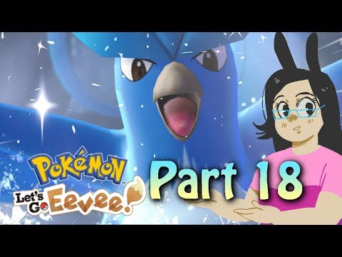 Pokemon Let's Go Eevee! Part 18 Zapdos and Articuno
