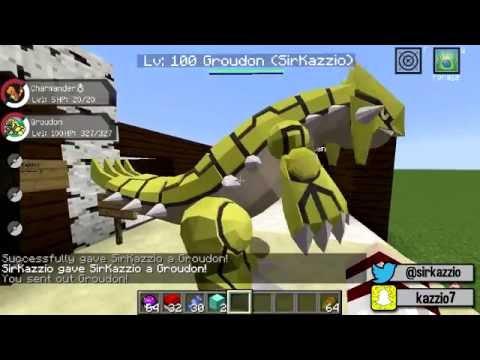 Minecraft : LUCKY PIXELMON - O GROUDON DE OURO ! IMPOSSÍVEL DERROTAR ?!