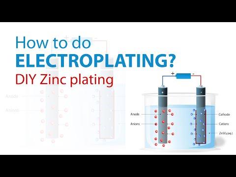 How to Do Electroplating? DIY Zinc plating - dArtofScience