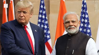 Late Night Hosts Laugh About Trump In India