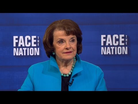 "Sen. Dianne Feinstein: ""Fmr. Director Comey is no way, shape or form a nut job"""