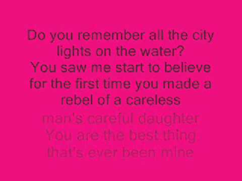 taylor swift- mine lyrics