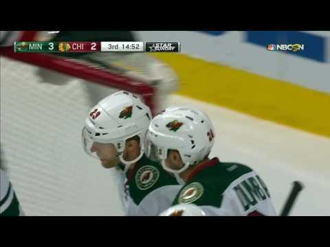 Pominville cleans up lucky knuckle-puck bounce for game-winner
