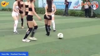 vuclip Funny Football - Black Bikini Hotgirl vs White Bikini Hotgirl - Worldcup for Hotgirls