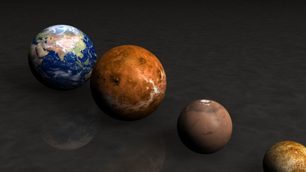Close Views Our Planets