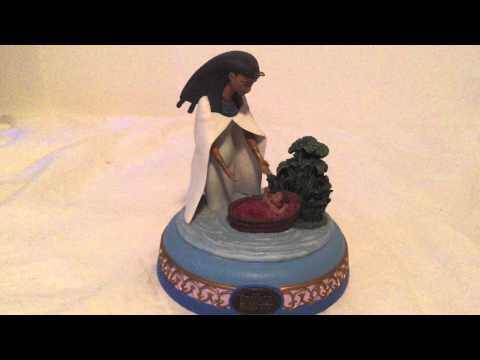 Prince of Egypt limited edition musical figurine working