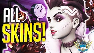 Overwatch - ALL SKINS AND ITEMS! - Halloween Terror 2018! (INSANE SKINS!)