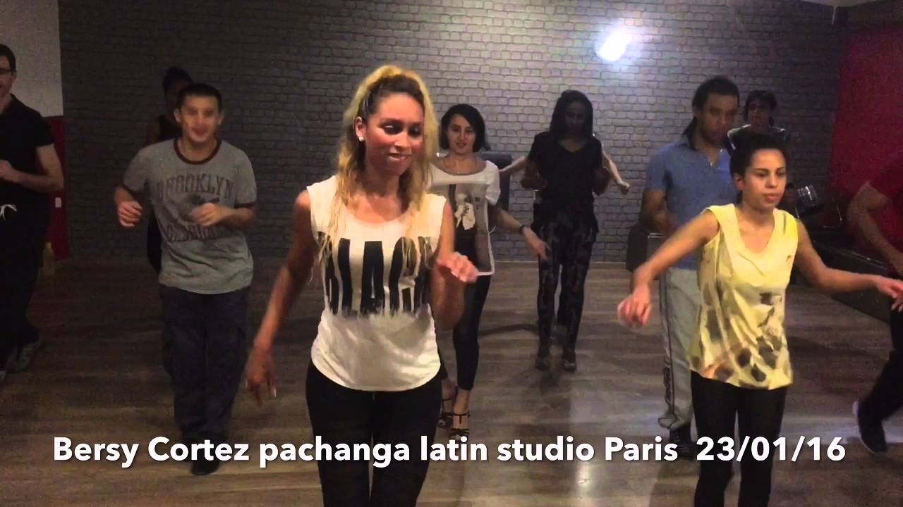 Bersy Cortez Pachanga class latin studio (Paris93 ) 23/01 ...