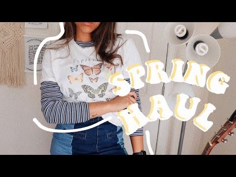 Spring Try On Haul (brandy Melville, Uo & American Eagle)
