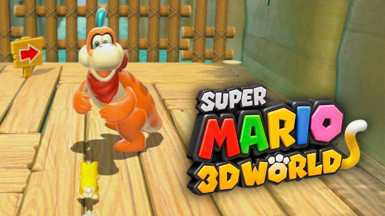 SUPER MARIO 3D WORLD #2 - Usando Toad, Princess Peach ...