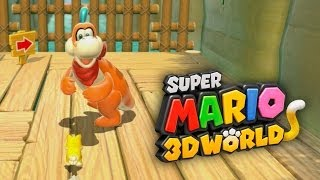 SUPER MARIO 3D WORLD #2 - Usando Toad, Princess Peach, Mario e Luigi!