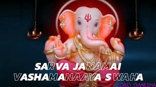 Ganpati status: On Shreem Hreem Kleem Glaum Gam Ganapataye   Ganesh Mantra