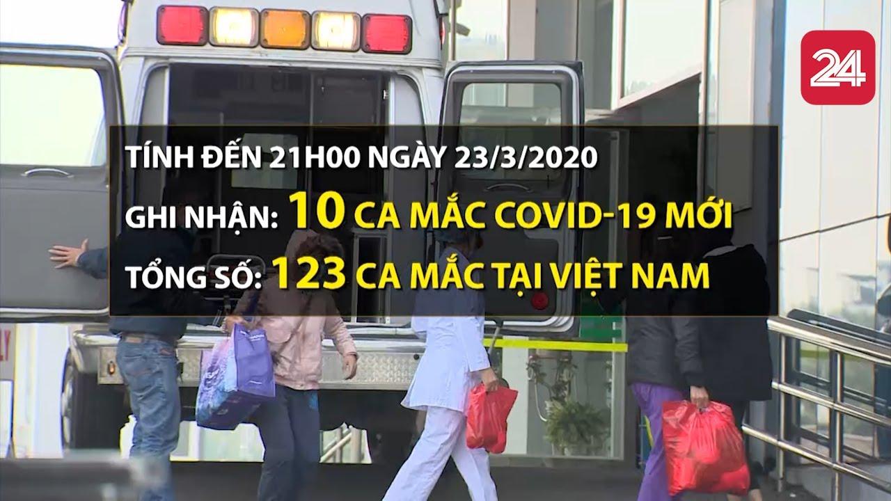 Toàn cảnh phòng chống dịch COVID-19 ngày 23/3/2020 | Việt Nam có 123 ca mắc bệnh | VTV24