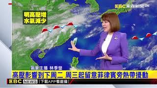 氣象時間 1080712 晚間氣象 東森新聞