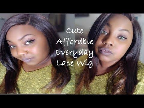 Lace Front Wig | Bohemian Wig Deep Part Lace | DPL London