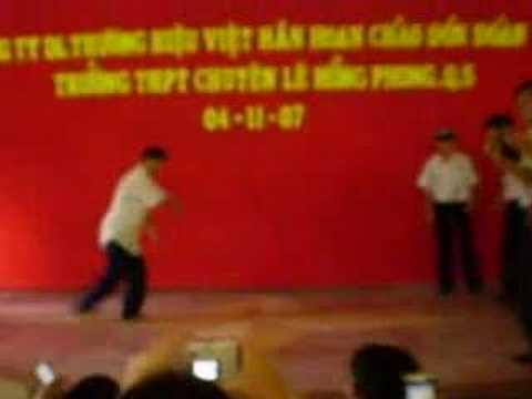 Nhảy hip Hop of Le Hong Phong highschool for the gifted