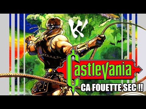 Castlevania   Nes  Ca fouette sec !