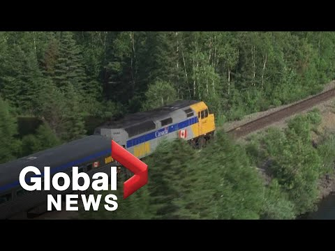 Anger And Violence Rising On Via Rail's Western Canadian Trains