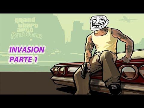 Gta San Andreas La Película (Invasión) Parte 1