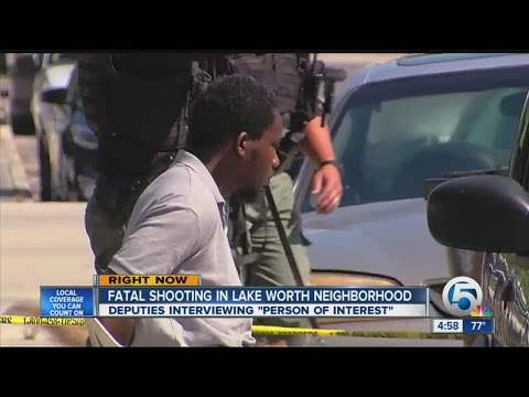 Fatal shooting in Lake Worth neighborhood