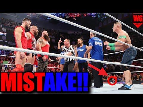 Huge Mistake OF Survivor Series 2017!